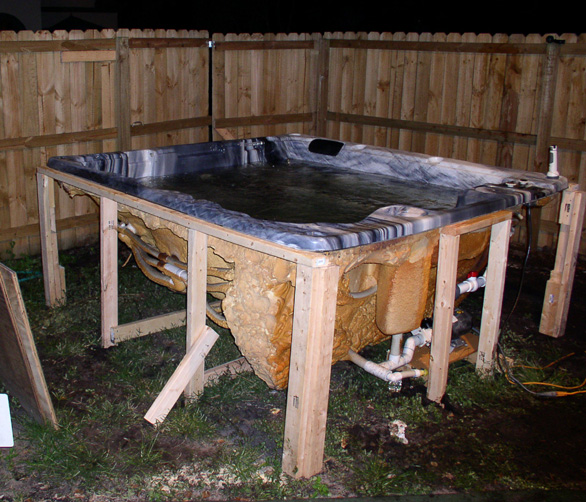 Hot tub for A frame pools and spas